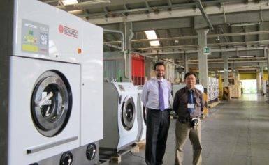 Bán máy giặt công nghiệp Renzacci chính hãng giá rẻ
