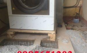 Không có pallet liệu máy giặt công nghiệp có thể vận chuyển không ?