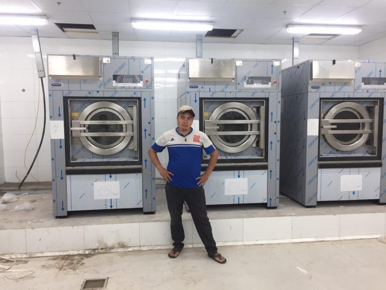 máy giặt công nghiệp Image đế mềm