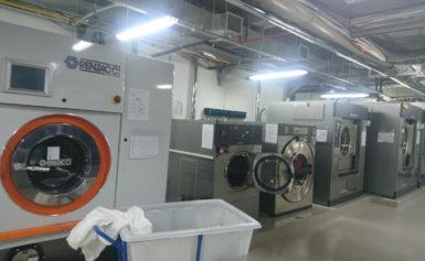 Máy giặt công nghiệp cửa ngang giải pháp giặt là hiệu quả!!!