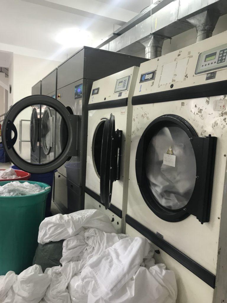 lựa chọn máy giặt công nghiệp dải công suất bao nhiêu