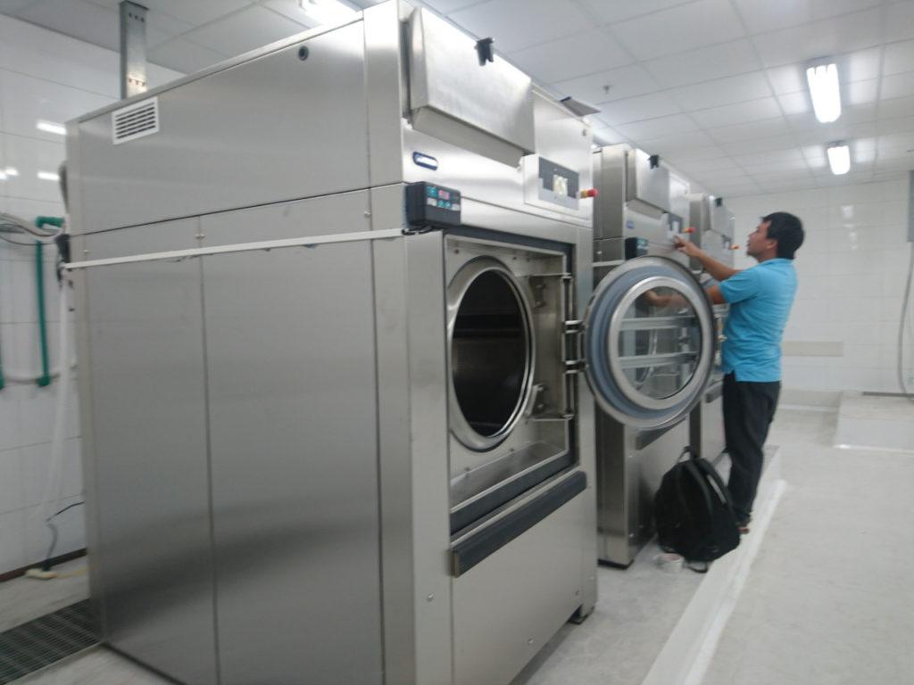 Thông số kĩ thuật của máy giặt công nghiệp