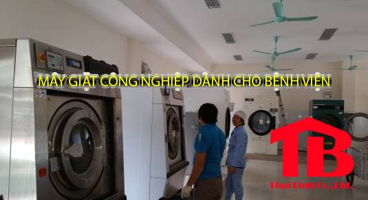 máy giặt công nghiệp dành cho bệnh viện