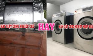 Liệu có nên mua máy giặt công nghiệp chế?