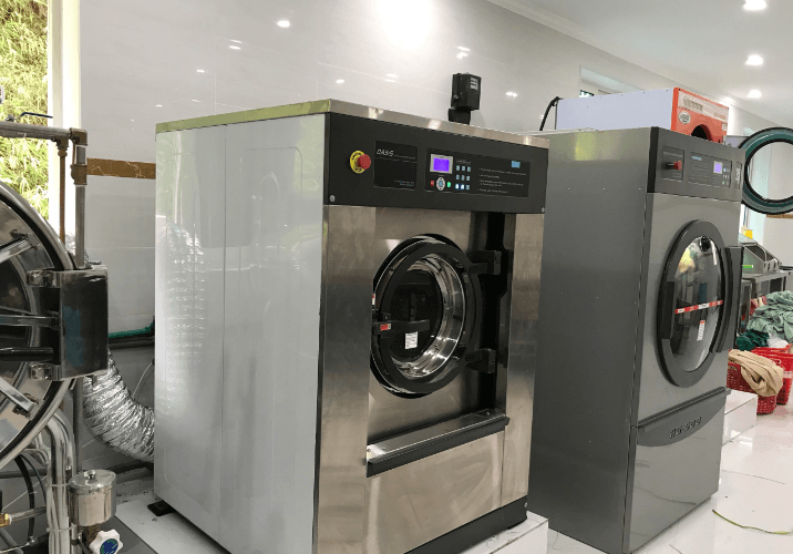 Máy giặt công nghiệp Hòa Phát – Thiết bị giặt vắt công nghiệp giá rẻ!