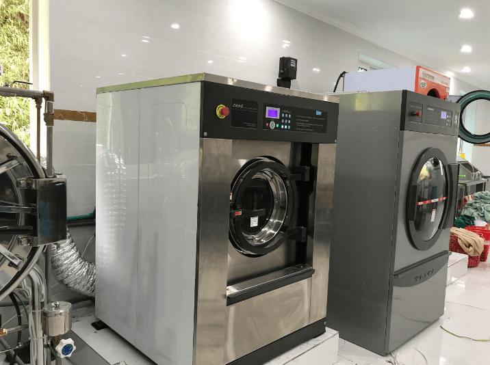 máy giặt công nghiệp Hòa Phát