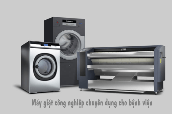 Máy giặt công nghiệp chuyên dụng dành cho bệnh viện, cơ ở y tế