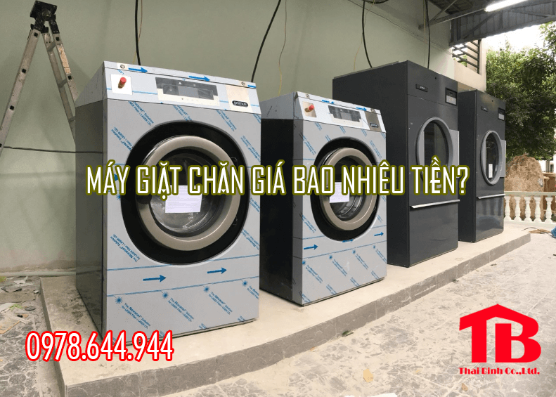 máy giặt chăn công nghiệp giá bao nhiêu tiền