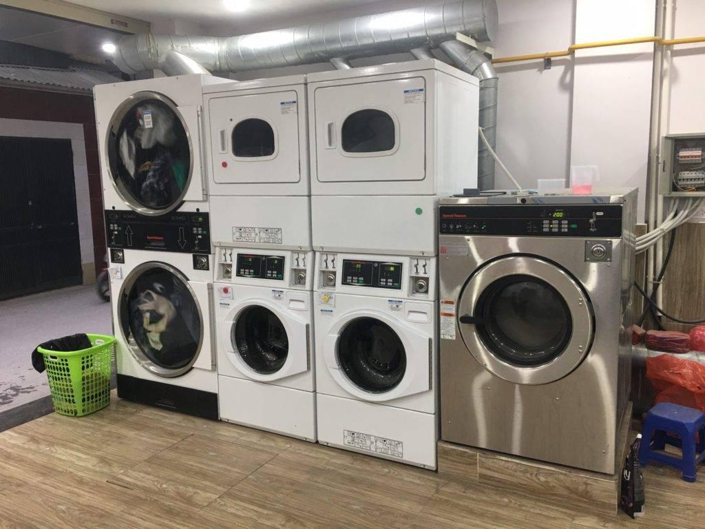 thương hiệu máy giặt công nghiệp Speed Queen