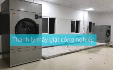 Thanh lý máy giặt công nghiệp đa dạng công suất 20kg, 30kg, 40kg, 50kg, 60kg