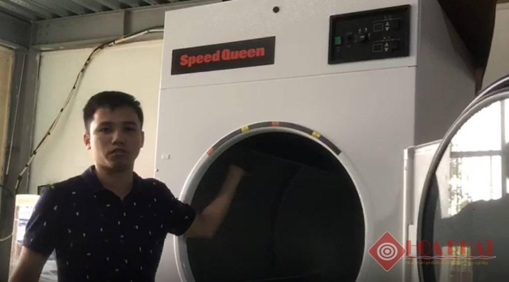 máy sấy công nghiệp 25kg Speed Queen