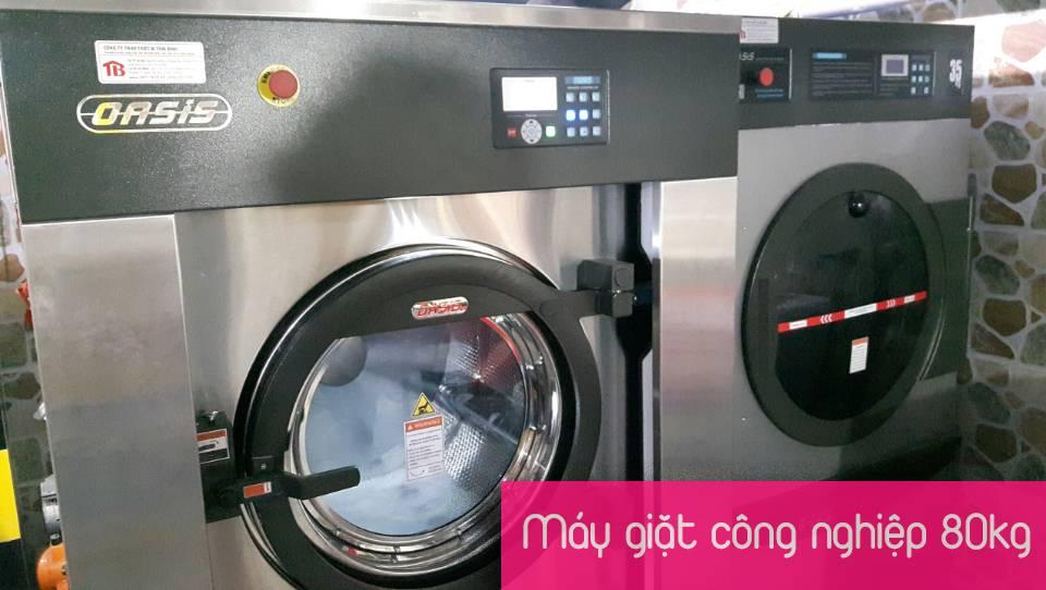 máy giặt công nghiệp 80kg Oasis SXT-800FZQ