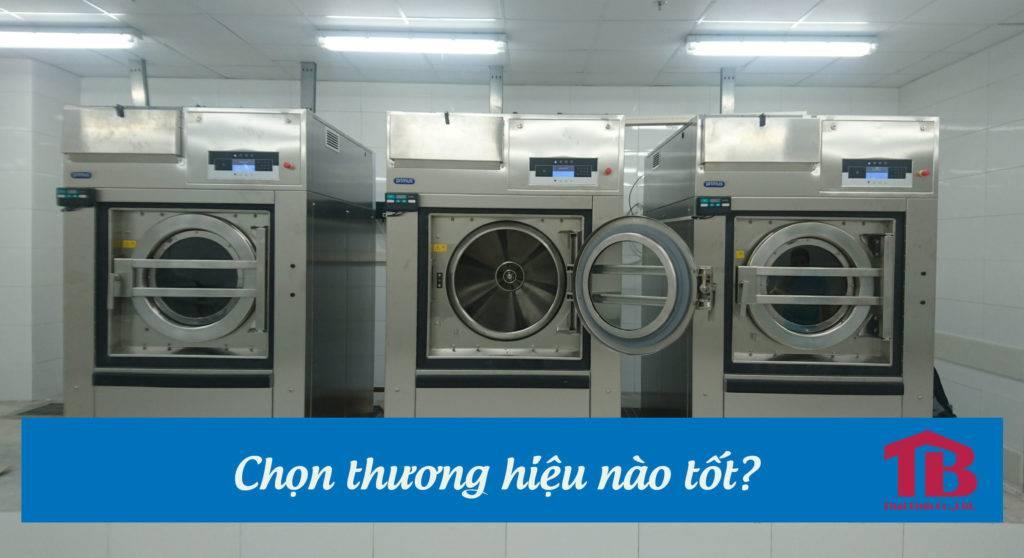 Chọn mua máy giặt công nghiệp thương hiệu nào tốt