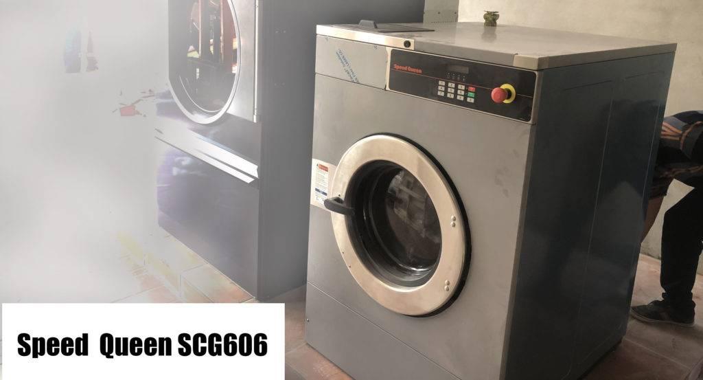 máy giặt công nghiệp 25kg speed queen scg606