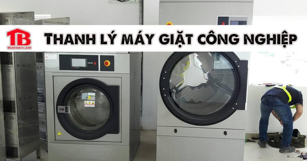 thanh lý máy giặt công nghiệp công suất 15kg, 20kg, 25kg,. 30kg, 35kg, 40kg, 50kg,60kg